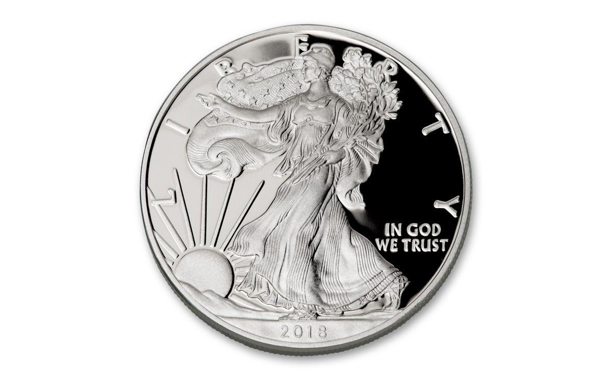 2018-S Proof $1 American Silver Eagle NGC PF69UC San Francisco Core