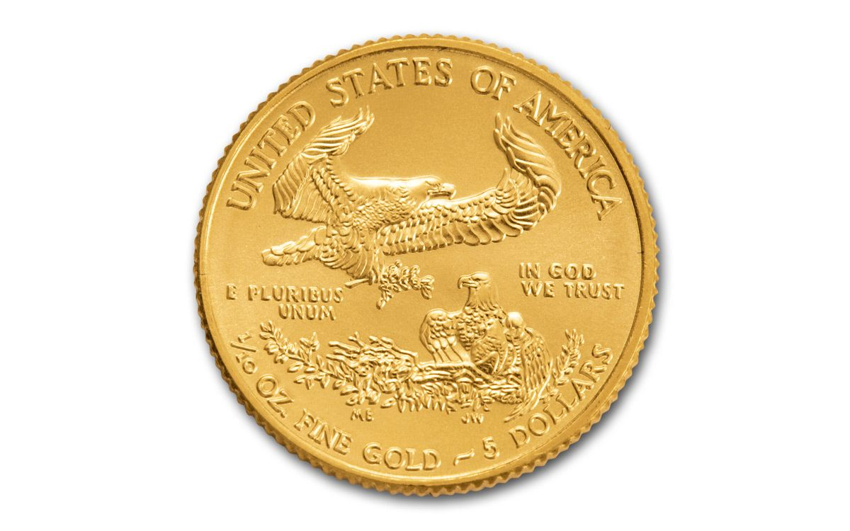 2019 $5 Gold Eagle NGC MS70 Early Releases Gold Coin Act Label