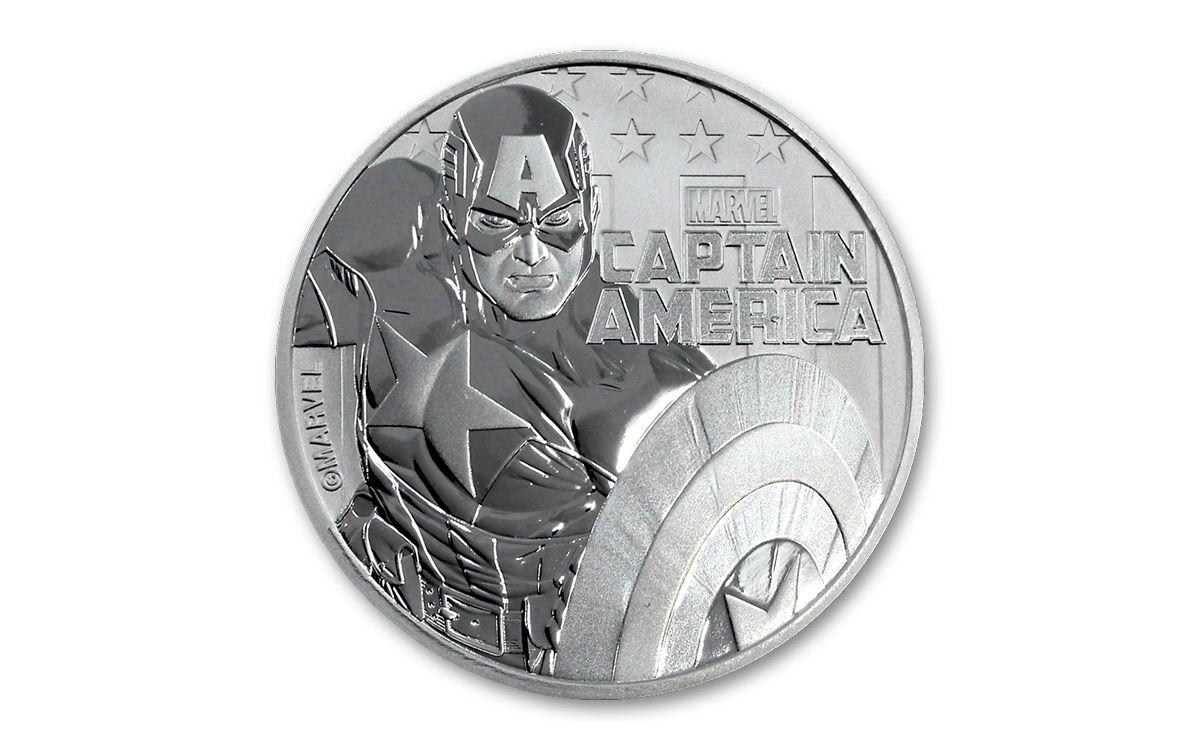 Iron Man 1oz silver Spiderman Deadpool /& Captain America Thor Black Panther