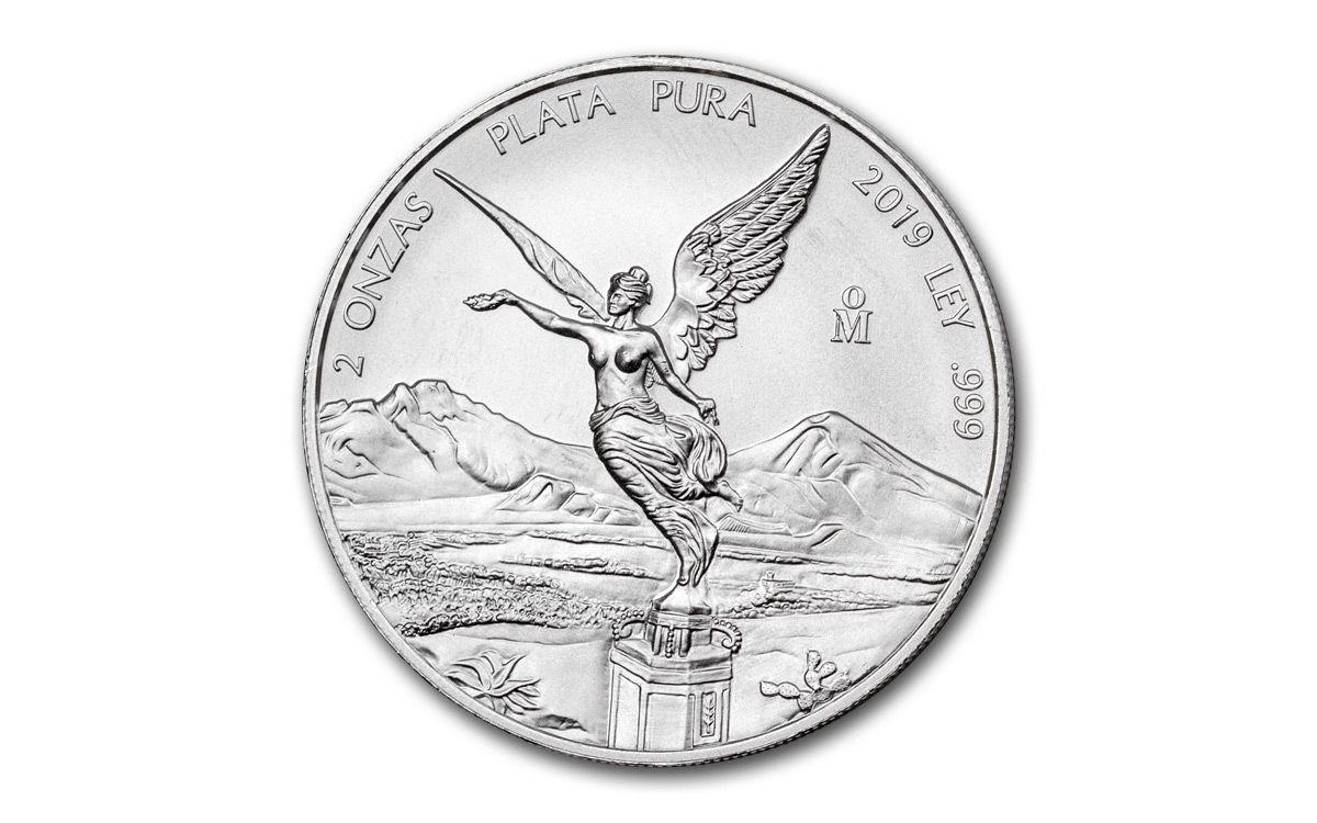1 Onza BU 1 oz 2019 Mexico Silver Libertad