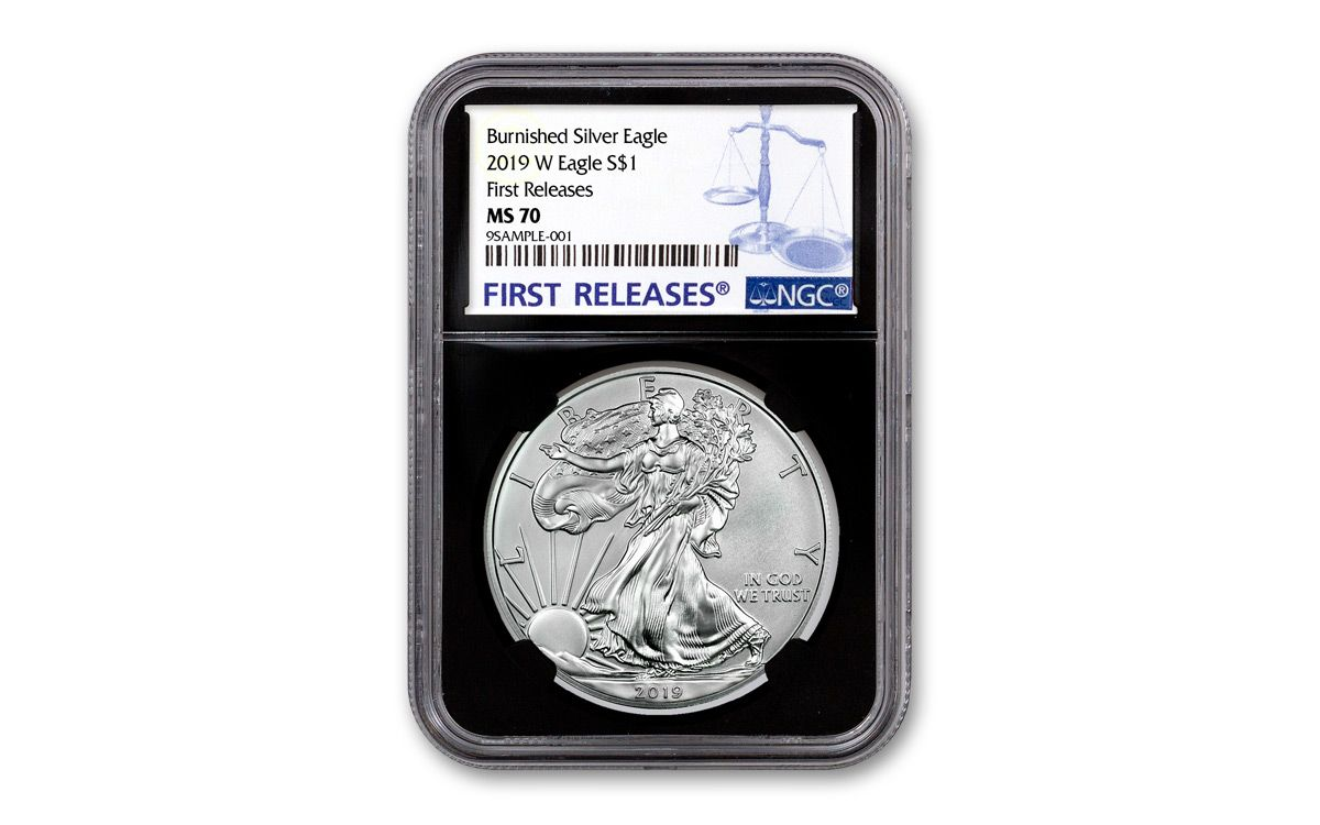 2019 $1 American Silver Eagle NGC MS70 West Point Core W