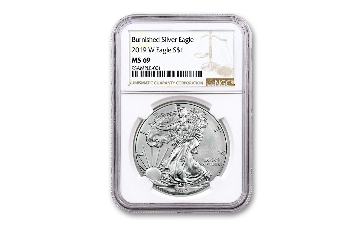 WEST POINT LABEL NGC MS69 2011-W  burnished  SILVER EAGLE buy it now