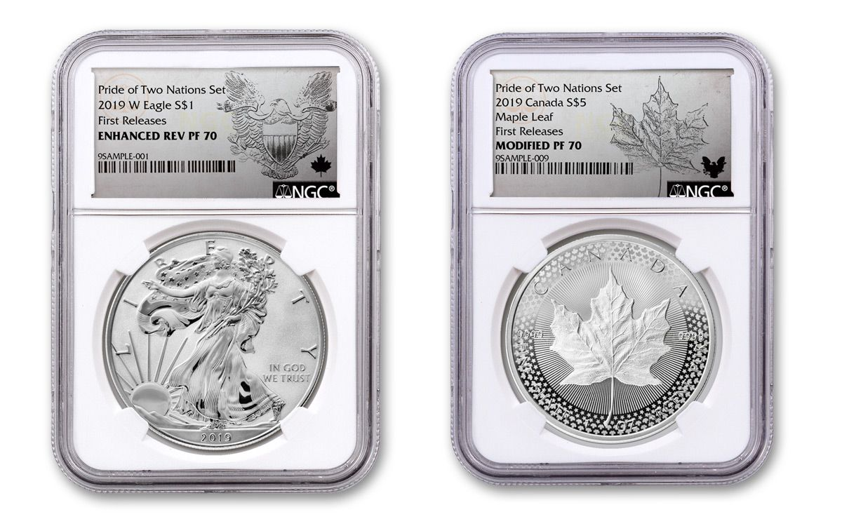 2019 S Limited Edition Silver Eagle Proof Dollar from Set NGC PF 70 Early Rel.