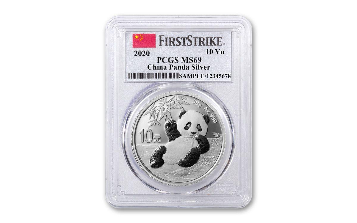2016-China Panda MS-69 First Strike