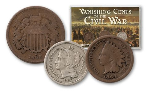 1864-1865 First Year Issue Six Cents Collection
