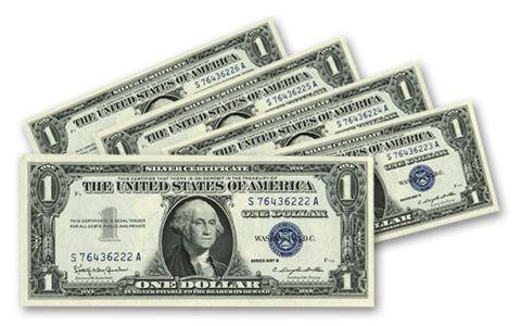 1957-B Sequential Silvr Dollar Certificate Set | GovMint.com