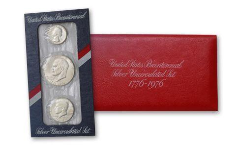 1976 United States Mint Set - 3 Pieces