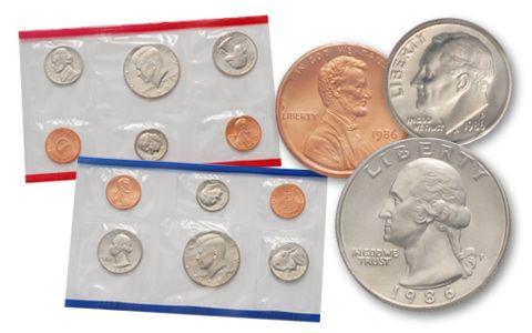 1986 United States Mint Set