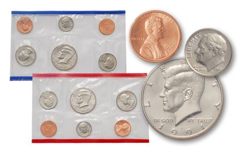1991 United States Mint Set