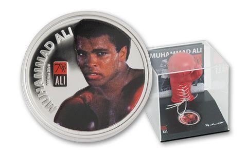 2012 Fiji 1-oz Silver Muhammad Ali Proof