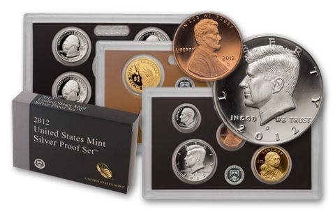 2012-S United States Silver Proof Set