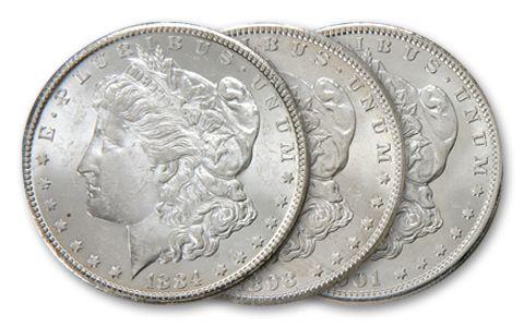 Dixieland Morgan Silver Dollar Mint Collection