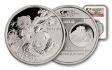2013 China 1-oz Silver Panda Medal NGC PF70 Berlin Show