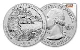 2018-P 25 Cent 5-oz Silver America The Beautiful Apostle Islands NGC SP70 Early Releases