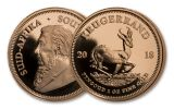 2018 South Africa 1 Ounce Gold Krugerrand Proof