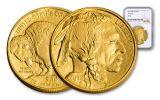 2018 $50 1-oz Gold Buffalo NGC MS70