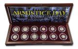 World War I Armistice Day 12-Piece Silver Coin Collection