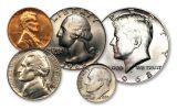 1968 Vietnam War-Era Tribute 5-Piece Coin Set with MPC Currency Note