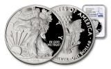 2019-W $1 1-oz American Silver Eagle NGC PF69UC Early Releases Blue