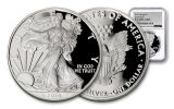 2019-W $1 1-oz Silver American Eagle NGC PF70UC Early Releases - Silver Foil Label