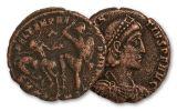 348-356 AD Bronze Centenionalis Constantius II