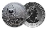 2020 Australia $1 1-oz Silver Redback Spider BU