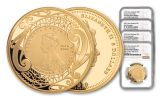 2019 New Zealand Gold Sovereign 4-pc Proof Set NGC PF70UC First Struck