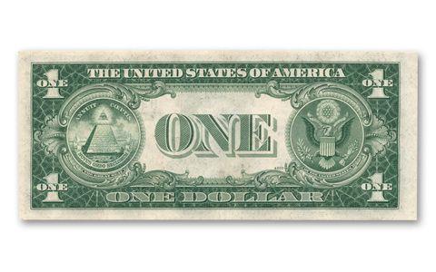 1935 1 (One) Dollar Silver Certificate Bill | GovMint.com