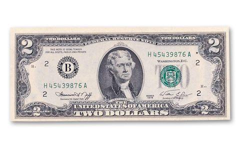 Dollar Federal Reserve Note Cu