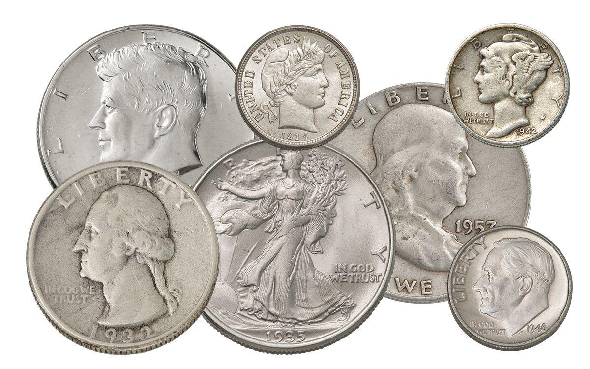 1 4 troy lb bag 1892 1964 us silver coins 90 silver govmint com