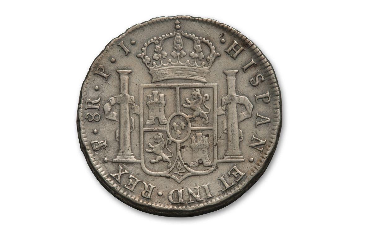 1772 1832 Spain 8 Reales XF