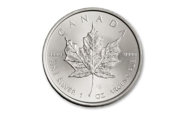 2016 Canada 5 Dollar 1 Oz Silver Maple Leaf Bu Coin