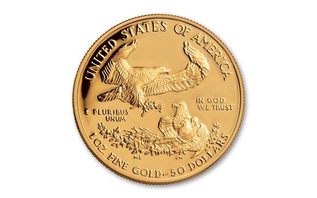 1986 50 Dollar 1 Oz Gold Eagle Proof