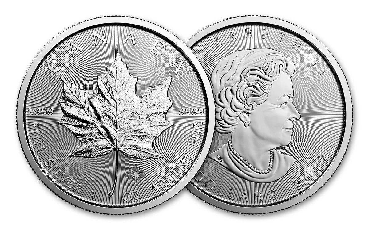 canadian maple leaf silver coins - 1200×750