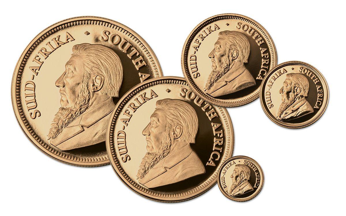 2017 South Africa Gold Krugerrand Prestige 6 Pc Set Ngc Gem Proof