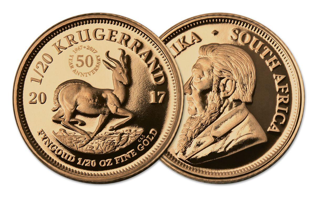 2017 South Africa 1 20 Oz Gold Krugerrand Proof