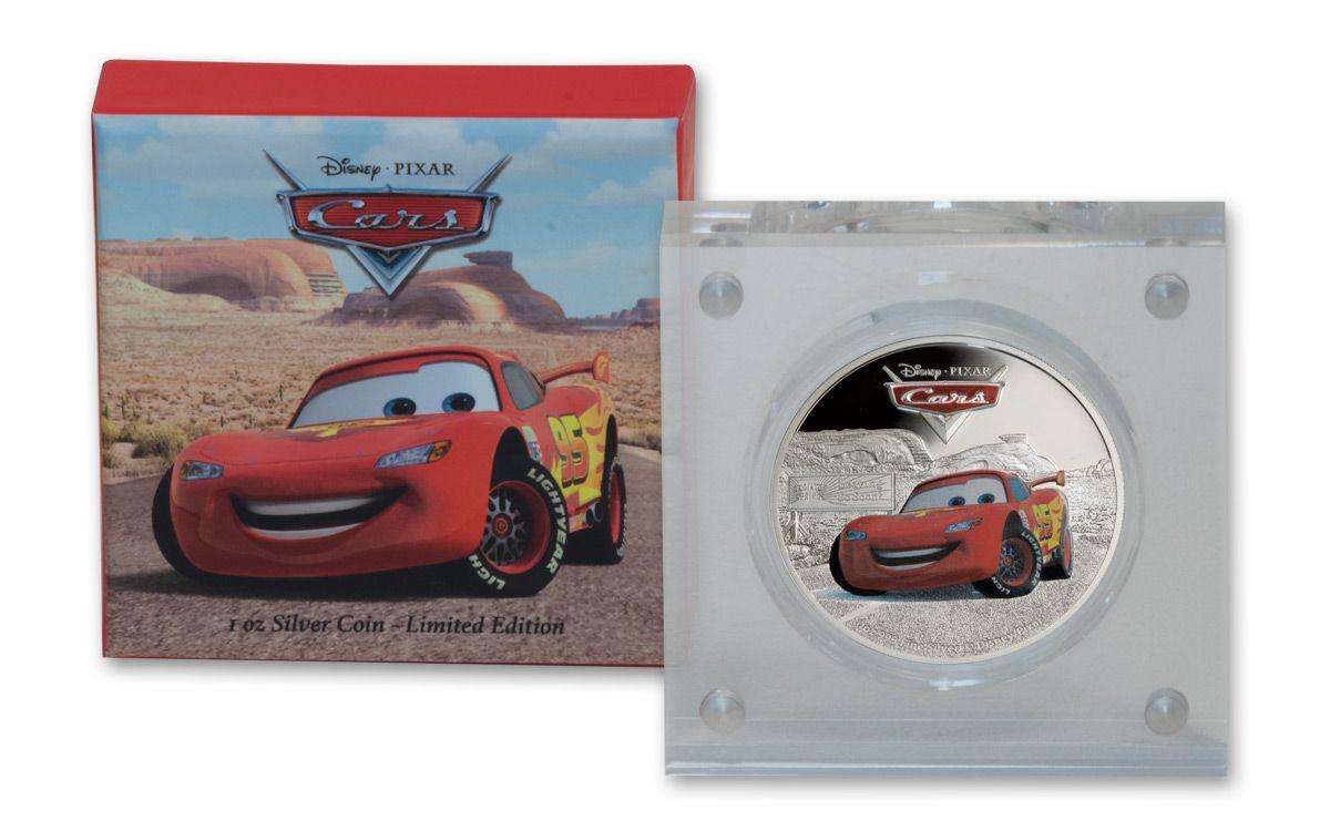 2017 1 oz silver disney pixar cars lightning mcqueen proof govmint com