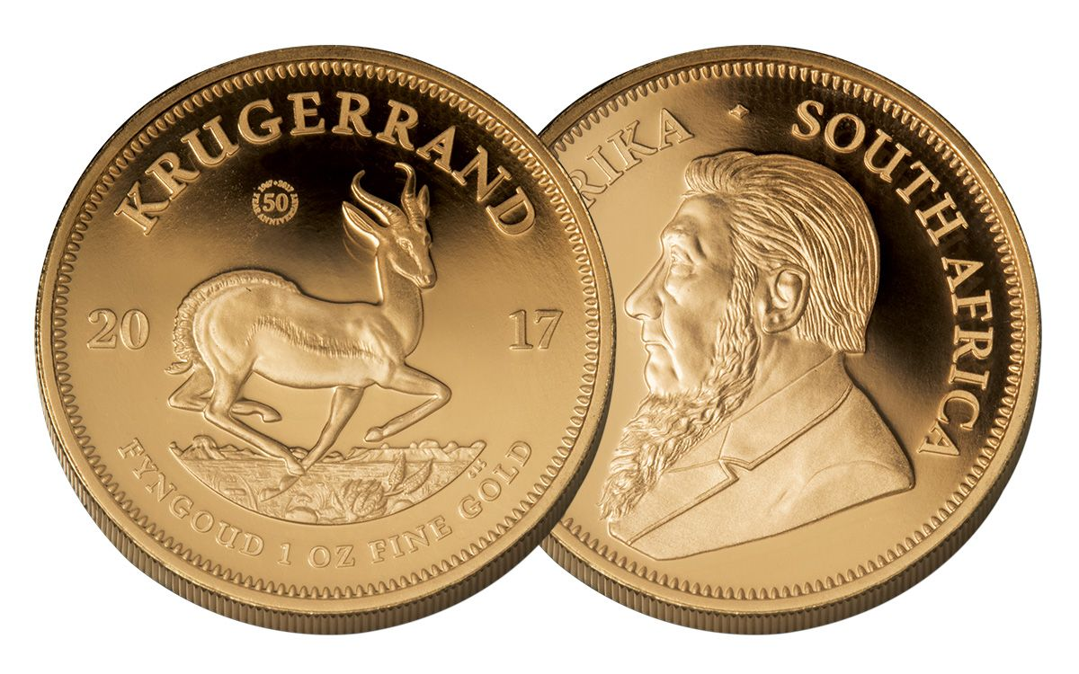 2017 South Africa 1 Oz Gold Krugerrand Proof
