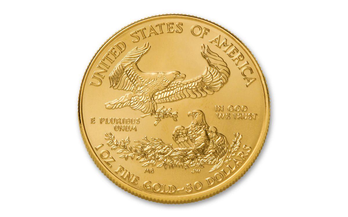 2018 50 Dollar 1 Oz Gold Eagle Bu