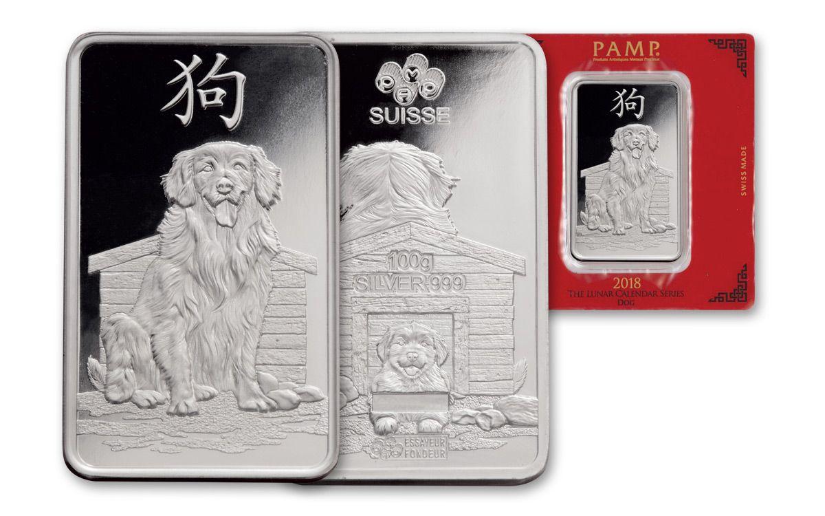 Cherish A Silver Bar Gleaming With Chinese Zodiac