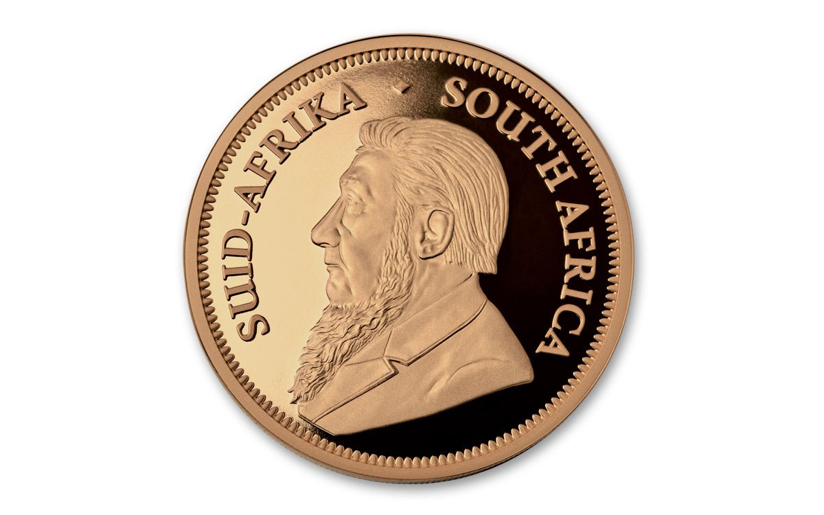 2017 South Africa 5 Oz Gold Krugerrand Ngc Pf70ucam
