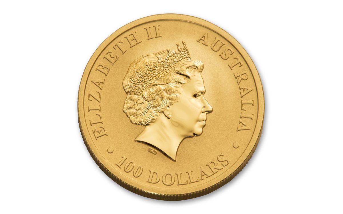 2018 Australia 100 Dollar 1 Oz Gold Kangaroo Ngc Ms70 First Releases