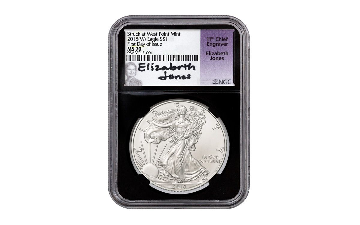 2018 1 Oz American Silver Eagle Coin Ngc Ms70 Er Stock Status Unavailable