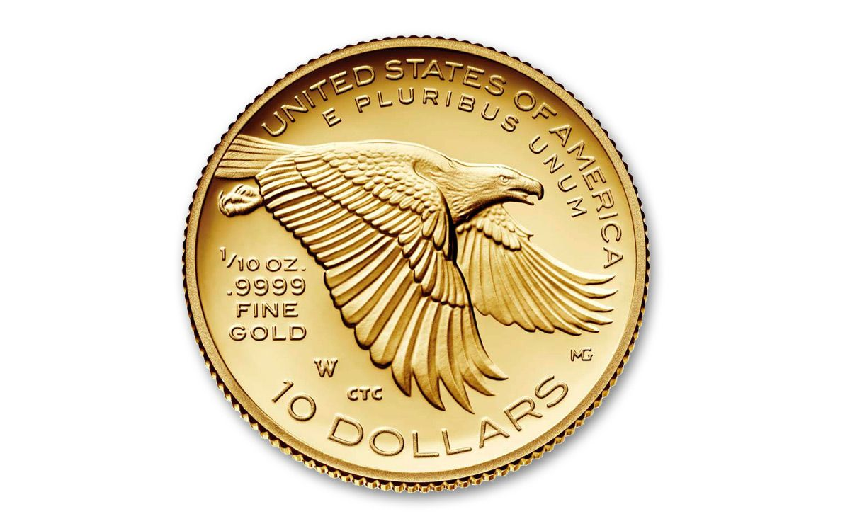 2018 W 10 Dollar 1 Oz Gold Liberty High Relief Proof
