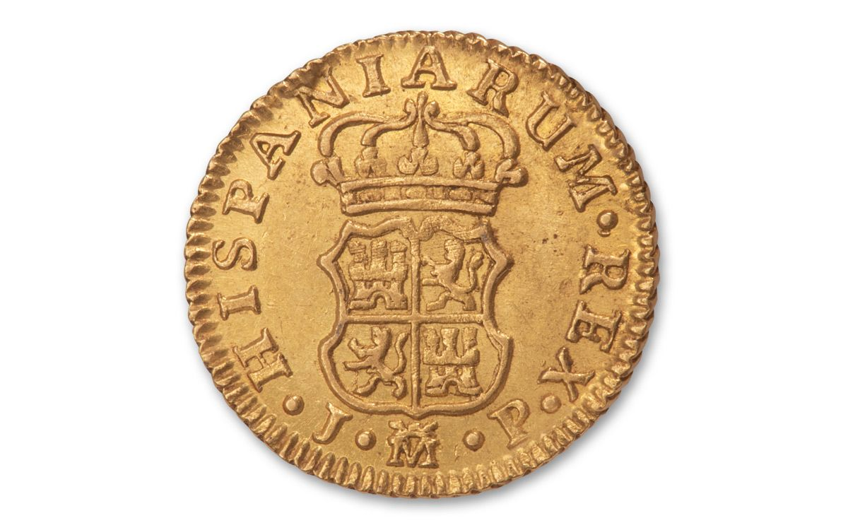 17643 Spain Gold Half Escudo Madrid Ngc Ms63 Govmint