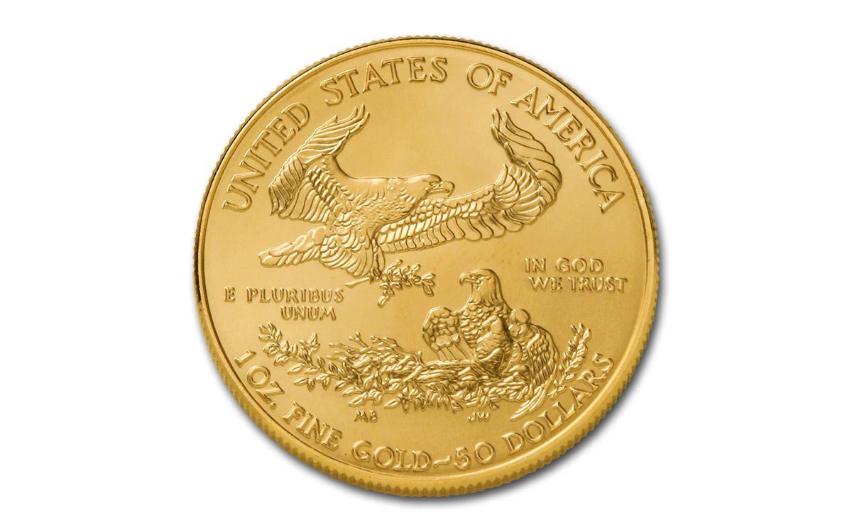 2019 50 1 Oz Gold American Eagle Bu