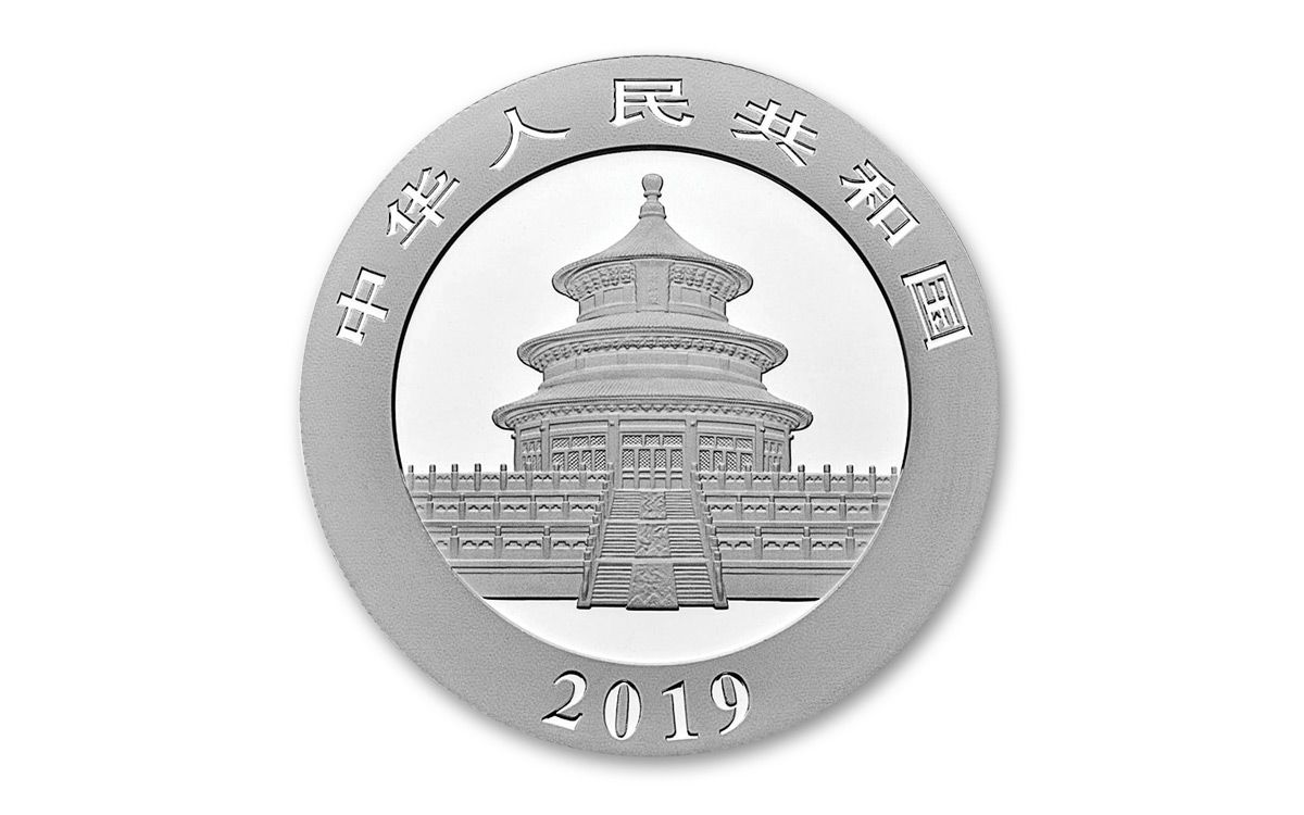 2019 China 30 Gram Silver Panda Ngc Ms70 Early Releases