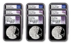 9PC 2020 $1 SLVR EAG NGC PF70 FDI JNS/MER/MOY WDP
