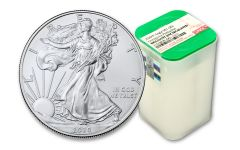 20pc 2020(P) $1 1-oz Silver Eagle Struck At Philadelphia Emergency Production NGC BU Roll