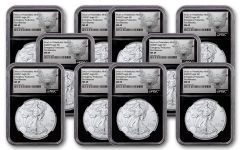10PK 2020(P) $1 SLV EAG PHILLY NGCMS69 FR BC HERAL